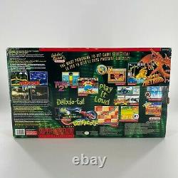 Super Nintendo SNES Console Donkey Kong Country Set in Box CIB TESTED NICE
