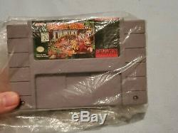 Super Nintendo SNES Console Super Donkey Kong Set COMPLETE IN BOX CIB! Tested
