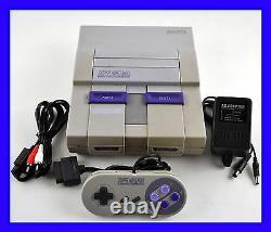 Super Nintendo SNES Console System Bundle OEM Controller