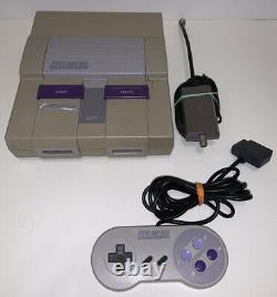 Super Nintendo SNES Console TESTED SNS -001 with Controller, RF Switch/TESTED read