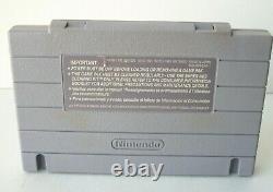 Super Nintendo SNES Console With Game Controller Cords Original System Bundle
