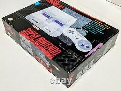 Super Nintendo SNES Control Set Console Box Inserts & Styrofoam Only MINTY