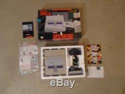 Super Nintendo SNES Control Set Console System Box