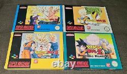 Super Nintendo SNES Dragon Ball Z Collection