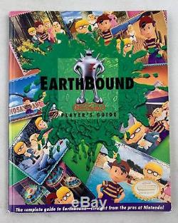 Super Nintendo (snes) Earthbound Boxed Complete With Inserts