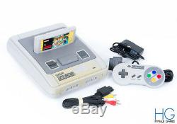 Super Nintendo SNES Game Console & Controller Bundle With Mario All Stars PAL