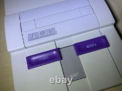 Super Nintendo SNES Game Console System Open Box