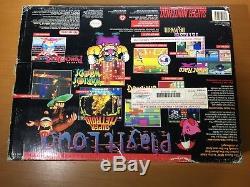 Super Nintendo SNES Gray Console Killer Instinct Bundle Brand New