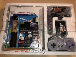 Super Nintendo SNES Gray Console Zelda Bundle Brand New
