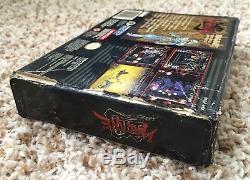 Super Nintendo SNES Hagane Original Box + Tray Authentic No Game Rare