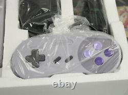 Super Nintendo SNES Jr Mini Model 2 SNS-101 Console Target Exclusive NIB withZelda