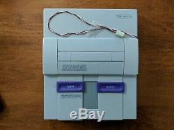 Super Nintendo SNES Kiosk MINT REPLACEMENT CONSOLE Working Original Authentic