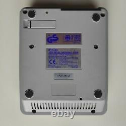 Super Nintendo SNES Konsole 2 Controller komplett Set alle Kabel gereinigt