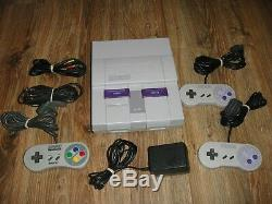 Super Nintendo SNES Lot SYSTEM SUPABOY S 45 GAMES SUPER SCOPE MOUSE AND PAD