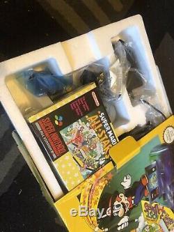 Super Nintendo SNES Mario All-Stars Bundle BRAND NEW