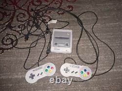 Super Nintendo SNES Mini Classic Console, 21 games (unboxed, good condition)
