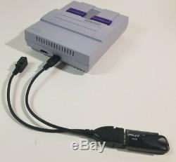 Super Nintendo SNES Mini Classic Edition Modded with 8000 Games withUSB OTG -NEW