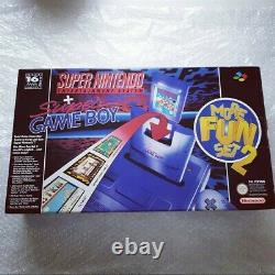 Super Nintendo SNES More fun set 2 NEU Vga ready selten rare