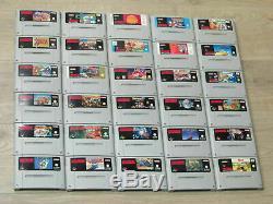 Super Nintendo (SNES) Spiele Zelda, Mario World, Kart Donkey Kong Asterix Tetris