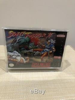 Super Nintendo SNES Street Fighter 2 Brand New Sealed Very Good Condition