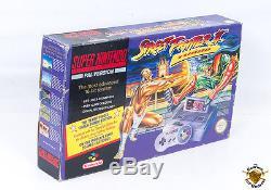 Super Nintendo SNES Street Fighter 2 Turbo Console Bundle Boxed! UK PAL