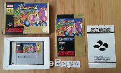 Super Nintendo SNES Super Bomberman 2 PAL