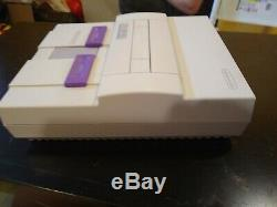Super Nintendo, SNES System CONSOLE Bundle / Lot zelda + Mario + KONG+ KART