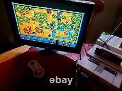 Super Nintendo SNES System Console OEM Official Controller Bundle Tested SNS-001