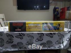 Super Nintendo Snes Console All stars Variant Distrubutor Sealed & Graded pal uk