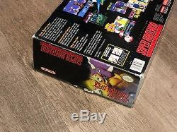 Super Nintendo Snes Console Deck Mini Model 2 System Rare Box Only