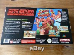 Super Nintendo Snes Console Rare Street Fighter II (2) Variant Boxed & Complete
