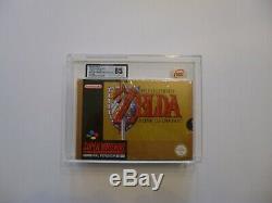 Super Nintendo Snes Legend Of Zelda Factory Sealed Ukg Graded 85 Near Mint