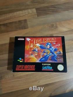 Super Nintendo Snes Megaman 7 Collectors Item