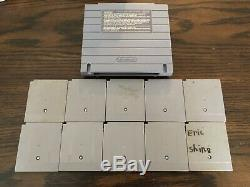 Super Nintendo Snes Super Gameboy Lot 10 Games Tested Mario Tmnt Kirby Free Ship