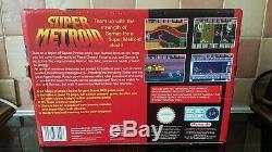 Super Nintendo Snes metroid zelda double value pak rare. Collectors condition