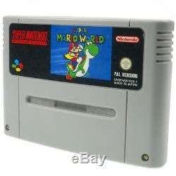 Super Nintendo Spiele über 70 SNES Games Mario World Kart Donkey Kong Zelda