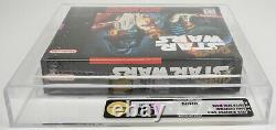 Super Nintendo Super Star Wars SNES New / Sealed / VGA 90 Near Mint+ / Mint
