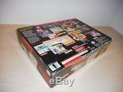 Super Nintendo System SNES Console Original Control Set Deck CIB Boxed Bundle