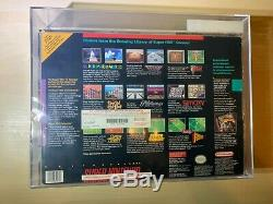 Super Nintendo System SNES Game Console Gray New VGA 75