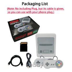 Super Nintendo Video Game Console 4K HDMI 1600 Retro GameS SNES NES PS1 HDMI