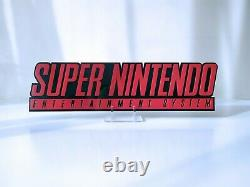 Super Nintendo decoration logo shelf display wall display gamer gift
