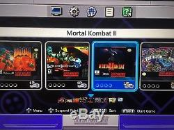 Super SNES Classic Edition Mini Nintendo Modded with 250 GAMES! Free Shipping