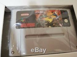 Super Widget & Run Saber New SNES Super Nintendo French FAH Completed Unopened