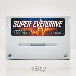 Super everdrive Nintendo SNES v2 Cart official krikzz free region Game