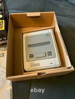 Super nintendo classic mini mit 2 controllern top mit packung und tasche snes cl