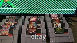 Super nintendo snes with hard to find games! All original