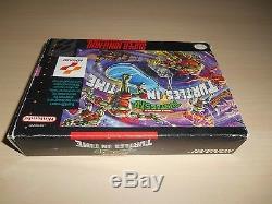 Teenage Mutant Ninja Turtles In Time IV 4 Super Nintendo SNES Game Complete CIB