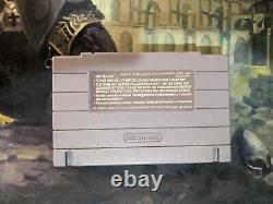 Ten SNES Super Nintendo Game Lot Authentic Tested Mario RPG Zelda Metroid + More