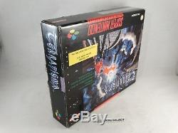 Terranigma Rpg Big Box Super Nintendo Snes Nes 16 Bit Pal Eu Eur Cib Completo