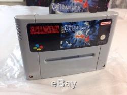 Terranigma Super Nintendo Authentic Complete in Box CIB 1996 PAL UK SNES